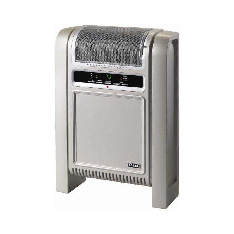 Lasko 758000 Cyclonic Ceramic Electric Space Heater Ceramic Heater Portable Heater Lasko