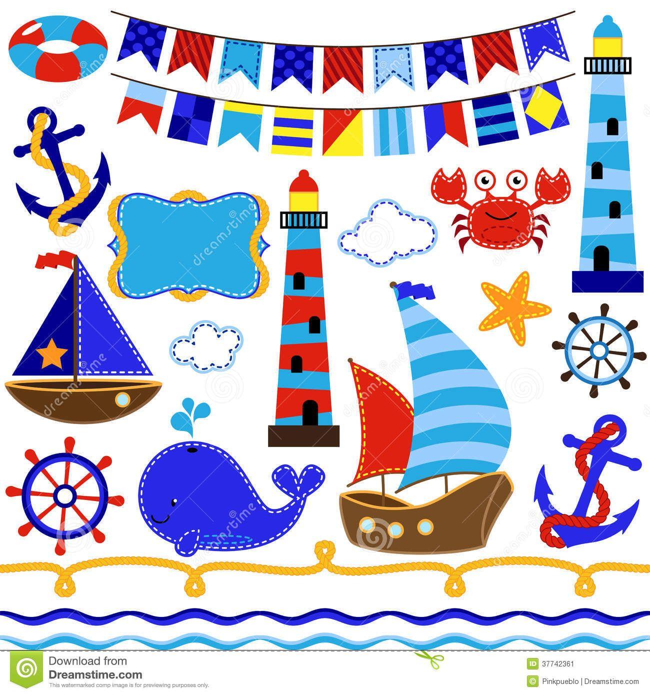 картинки в морском стиле для скрапбукинга: 13 тыс ...
