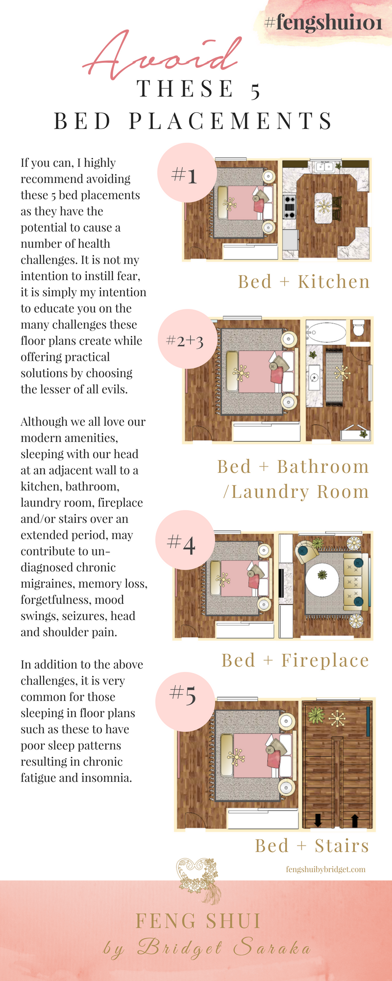 Avoid These 5 Bed Placements fengshui101 Bed placement
