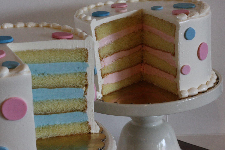 Baby Gender Reveal Cakes Freeport Bakery Gender Reveal Cake Baby Reveal Cakes Gender Reveal Cake Topper