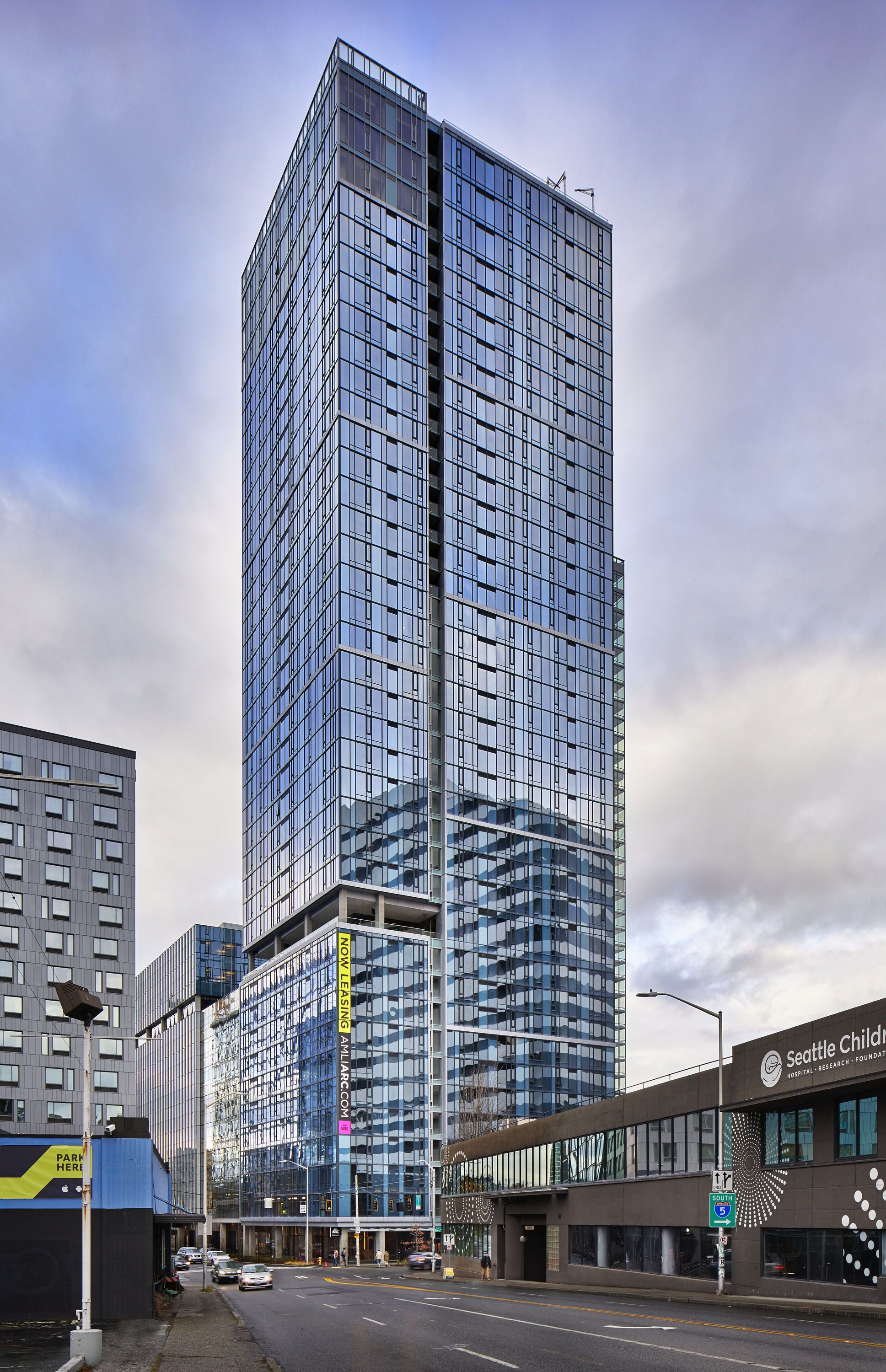 AMLI Arc Is A Brand New, 41 Story Apartment Tower In The Thick Of
