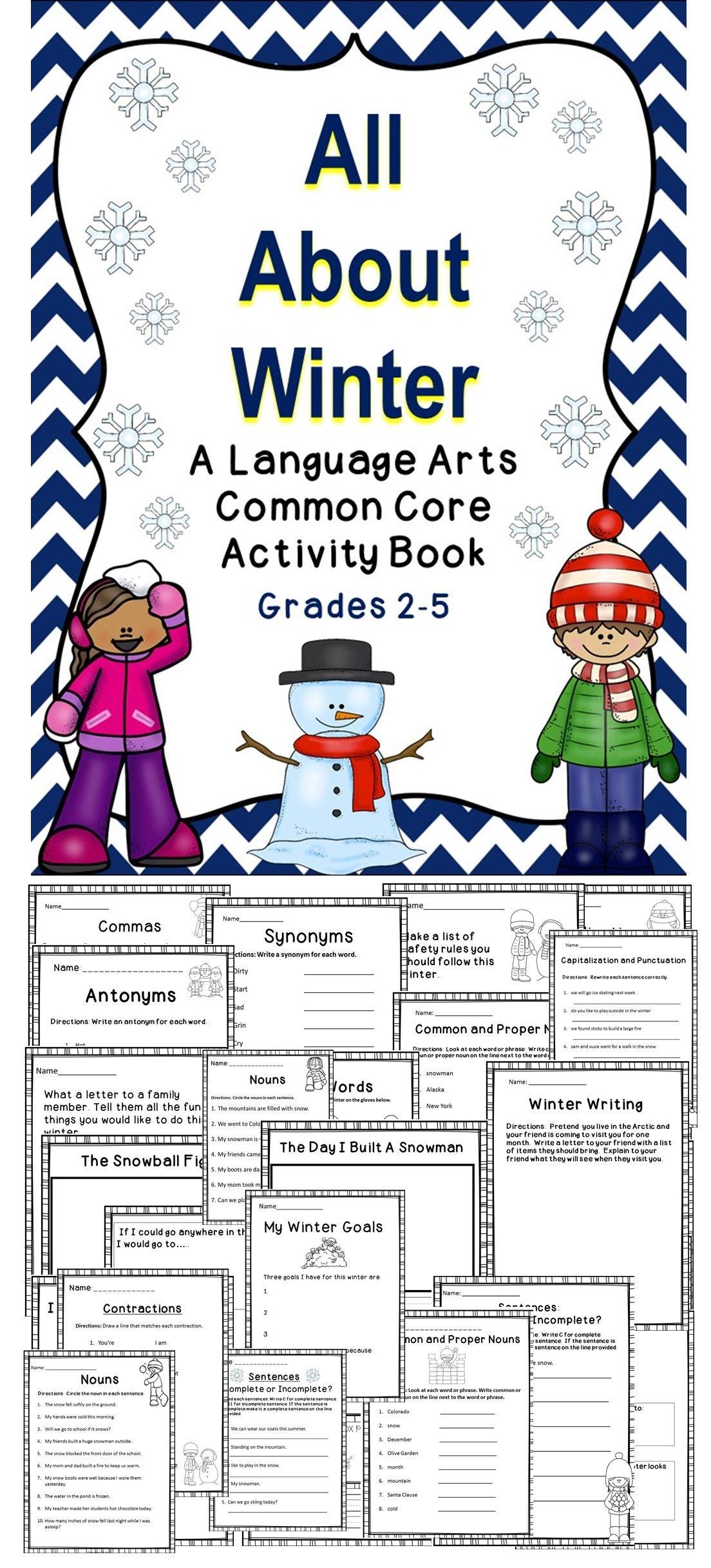 winter teaching teaching language arts art activities educational activities. Black Bedroom Furniture Sets. Home Design Ideas