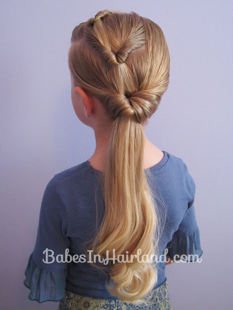 Triple flipped ponytail hairstyle ponytail flipping and hair style