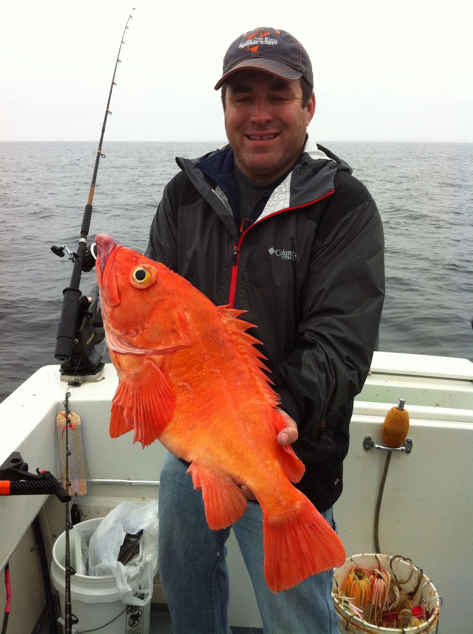 Love the color go this Yellow Eye. Fishing in Ketchikan with Worman ...