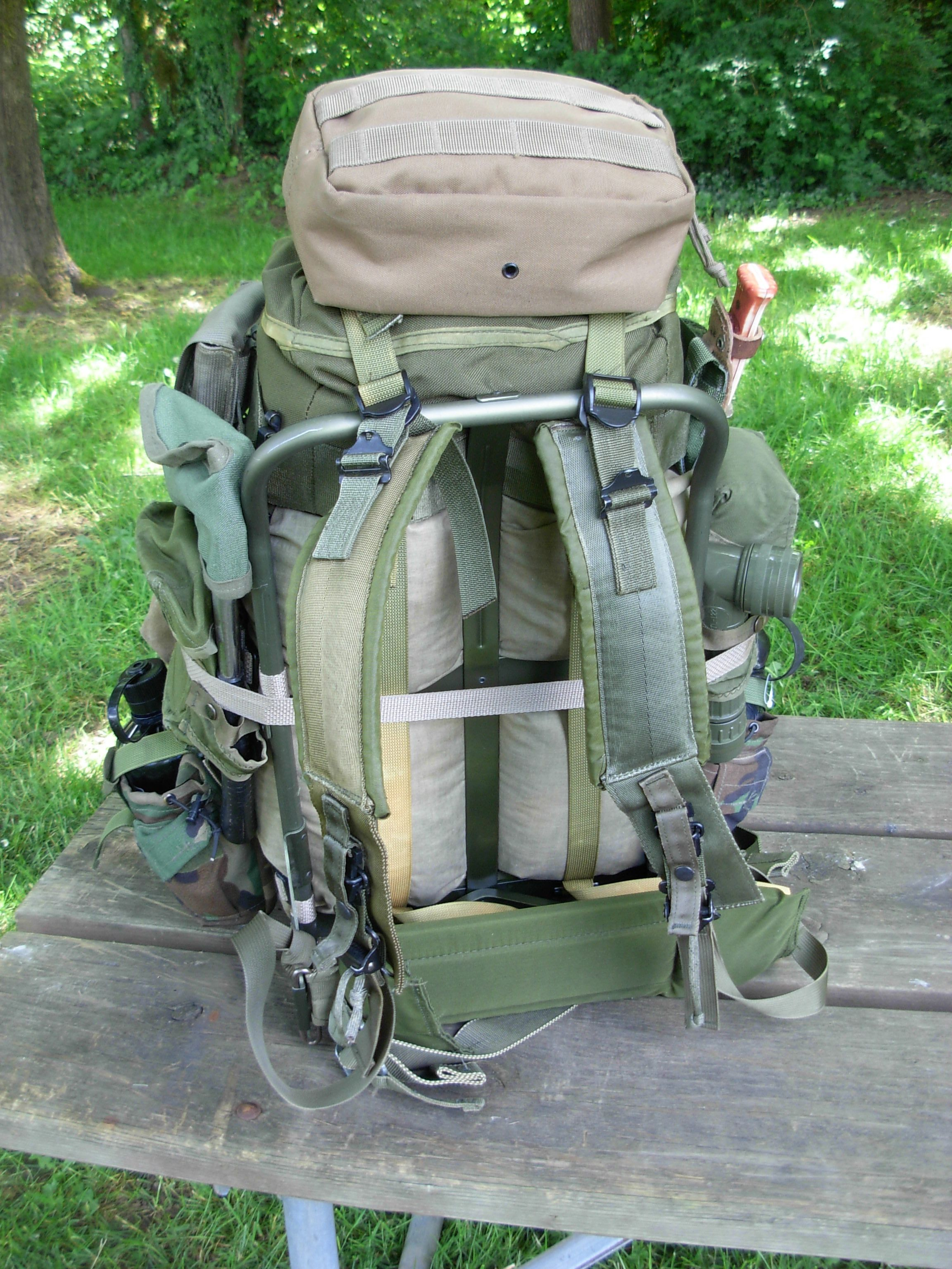 Alice Frame Modular Stuff Sack Pack System Hammock Camping Gear Tree Straps Camping Gear