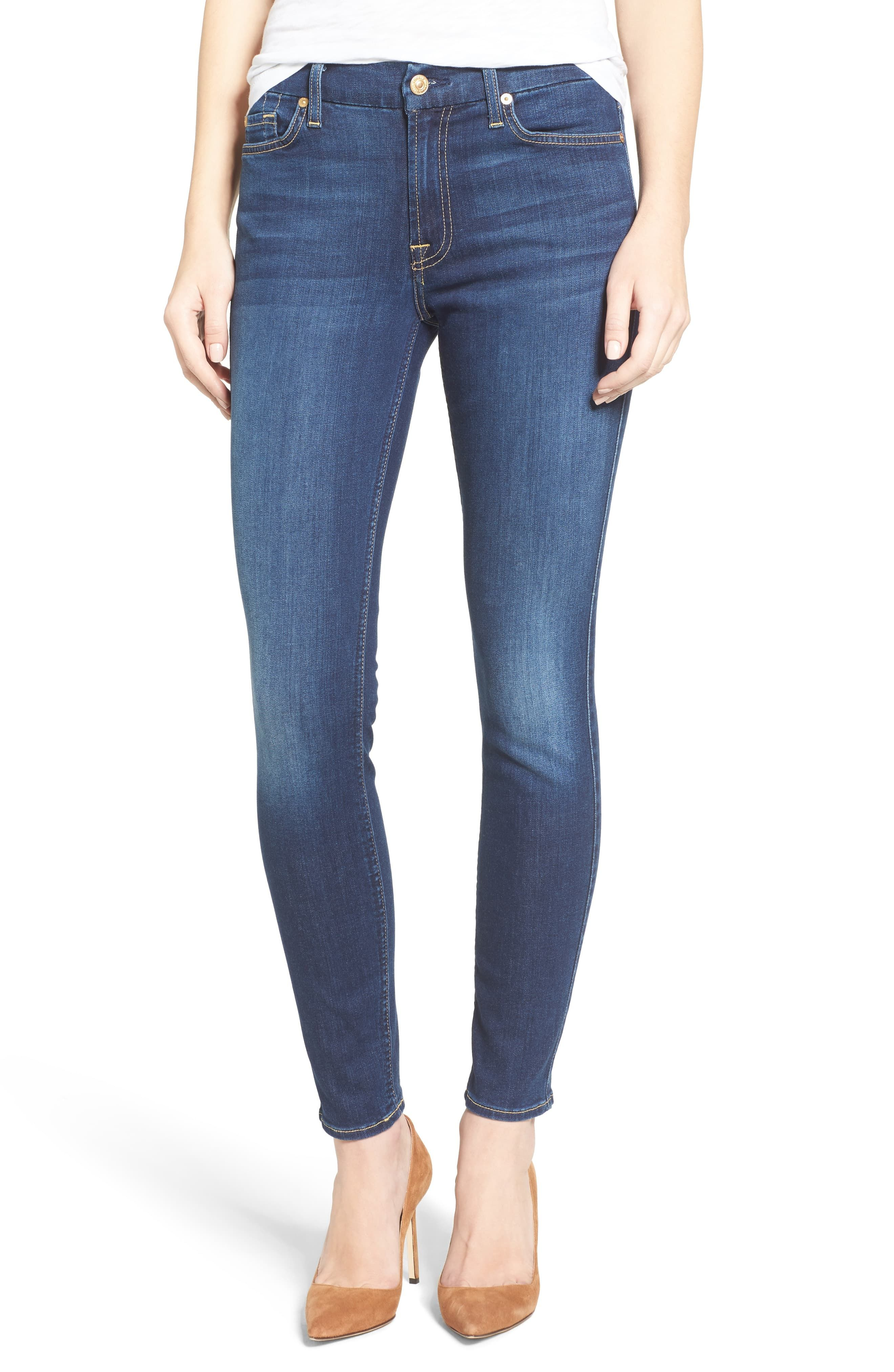 7 For All Mankind B Air Ankle Skinny Jeans Skinny Jeans Style