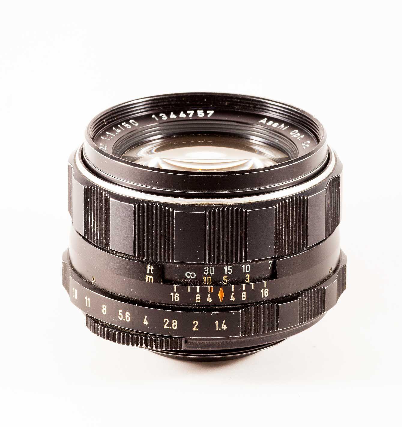 Review Pentax Super Takumar 50mm F 1 4 8 Elements Design