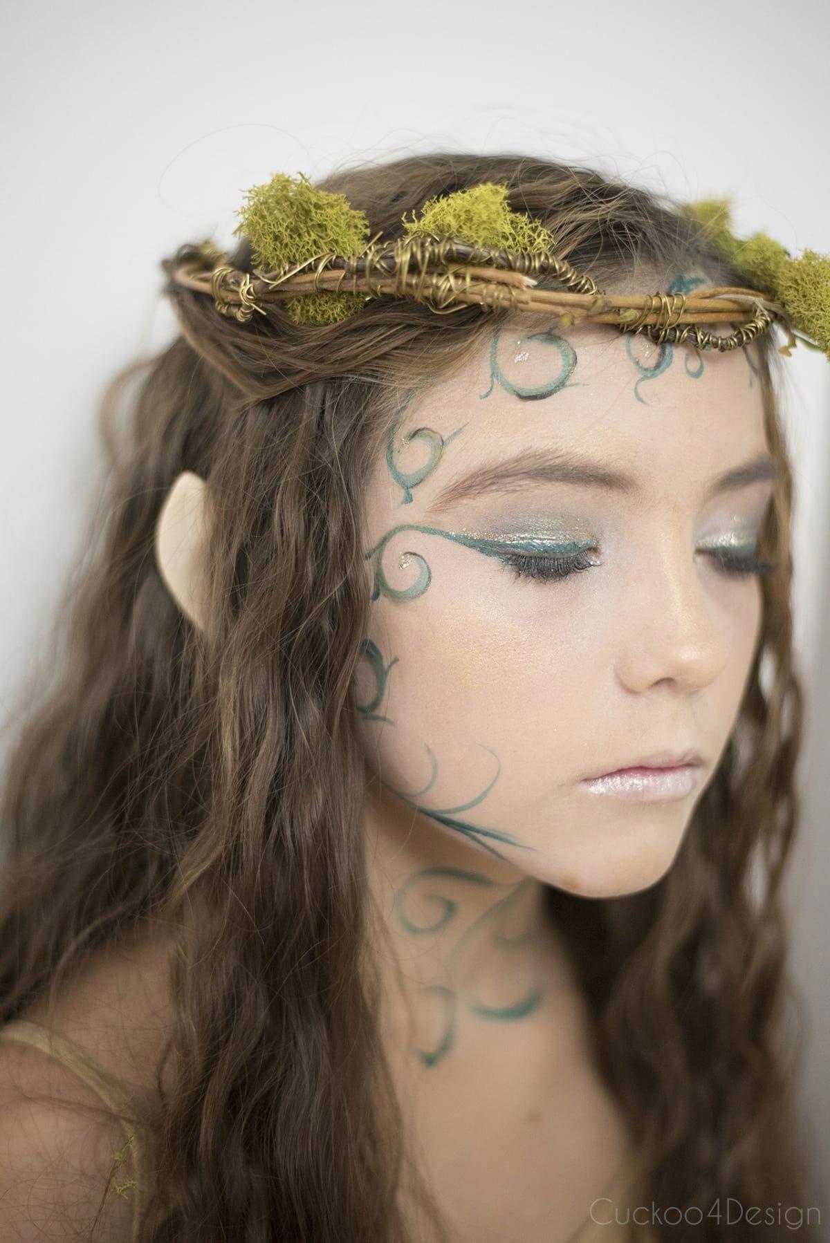 forest elf woodland fairy forest fairy fairy makeup