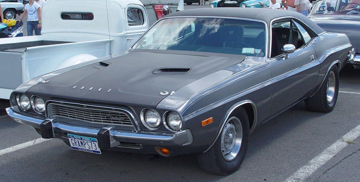 1973 Dodge Challenger Grey oooooohhhhhhh love this