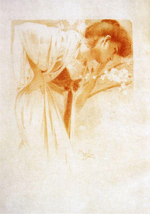 Alfons Mucha - Melancholie