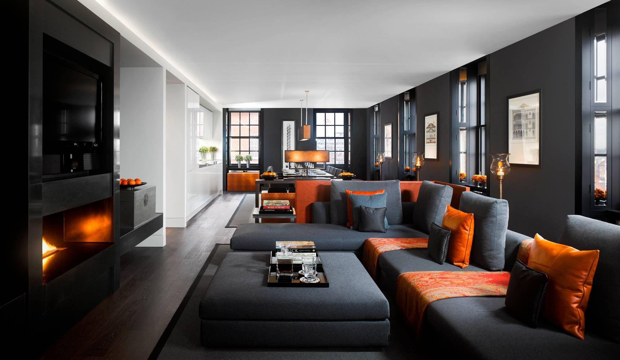 Grosvenor House Apartments By Jumeirah Living London Hyde Park Suite Salons Luxueux Appartement Luxe Decoration Interieure Moderne