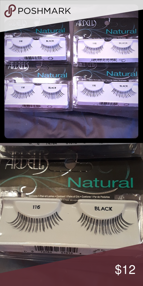 788f5b8fabb Ardell Natural Lashes #116 4 brand new single pack Ardell Natural Lashes # 116. Bundle Priced. Smoke free home Ardell Makeup False Eyelashes