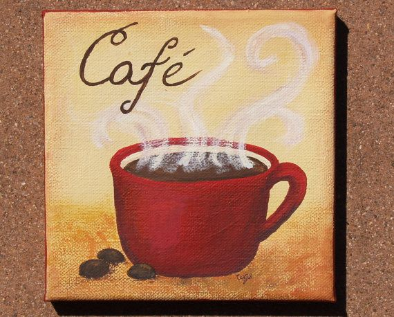 Best 25 coffee painting ideas on pinterest coffee for How to paint a mug