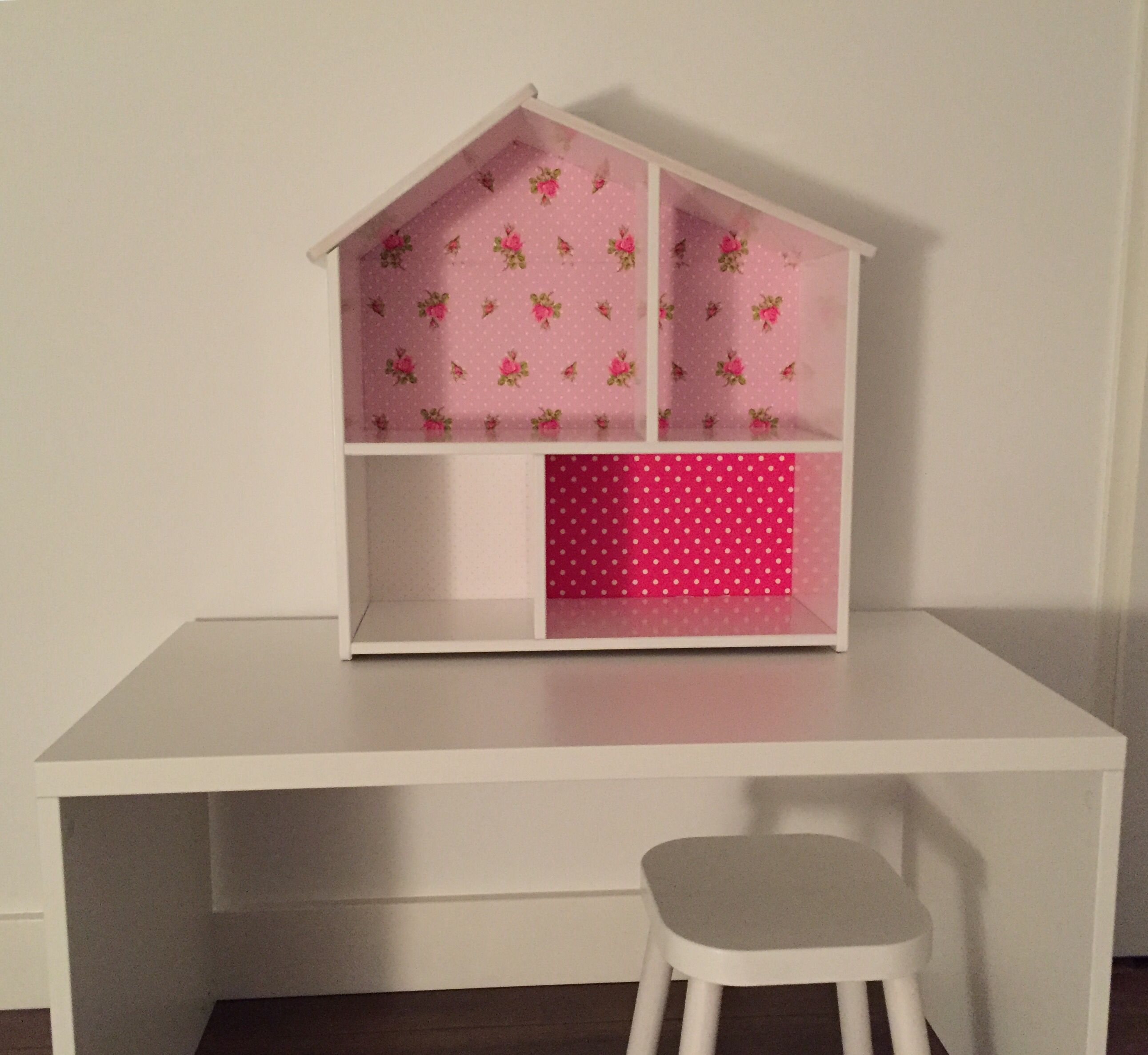 diy poppenhuis flisat ikea o o pinterest kinderzimmer und selfmade. Black Bedroom Furniture Sets. Home Design Ideas