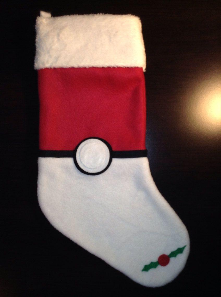 Pokemon stocking by azzys unique plushies pokemon