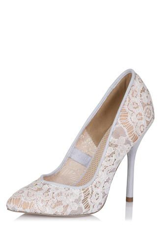 Paper Dolls, Lace Pointed Court Shoe in