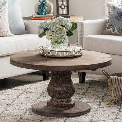 Bungalow Rose Amelia Coffee Table | Mesas ratonas, Muebles de madera ...