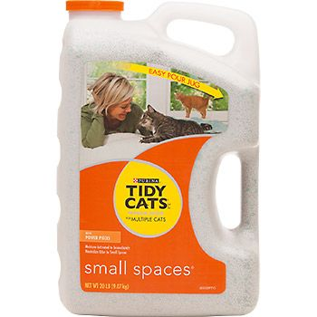 Tidy Cats Scoop Small Spaces Cat Litter   \
