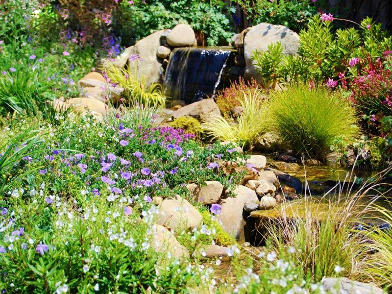 Bachlauf Im Traumgarten Anlegen - Schöne Idee | Gartenideen