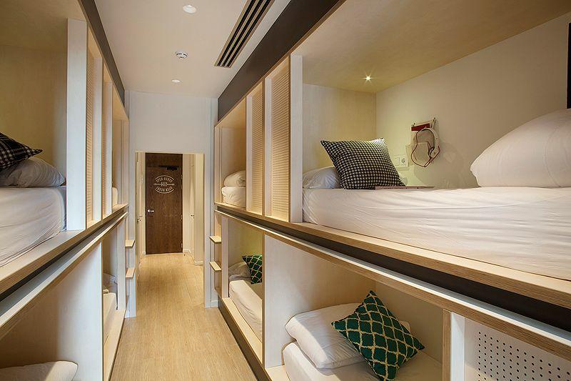 Hoteles apartamentos archivos interiores minimalistas for Hostal diseno madrid