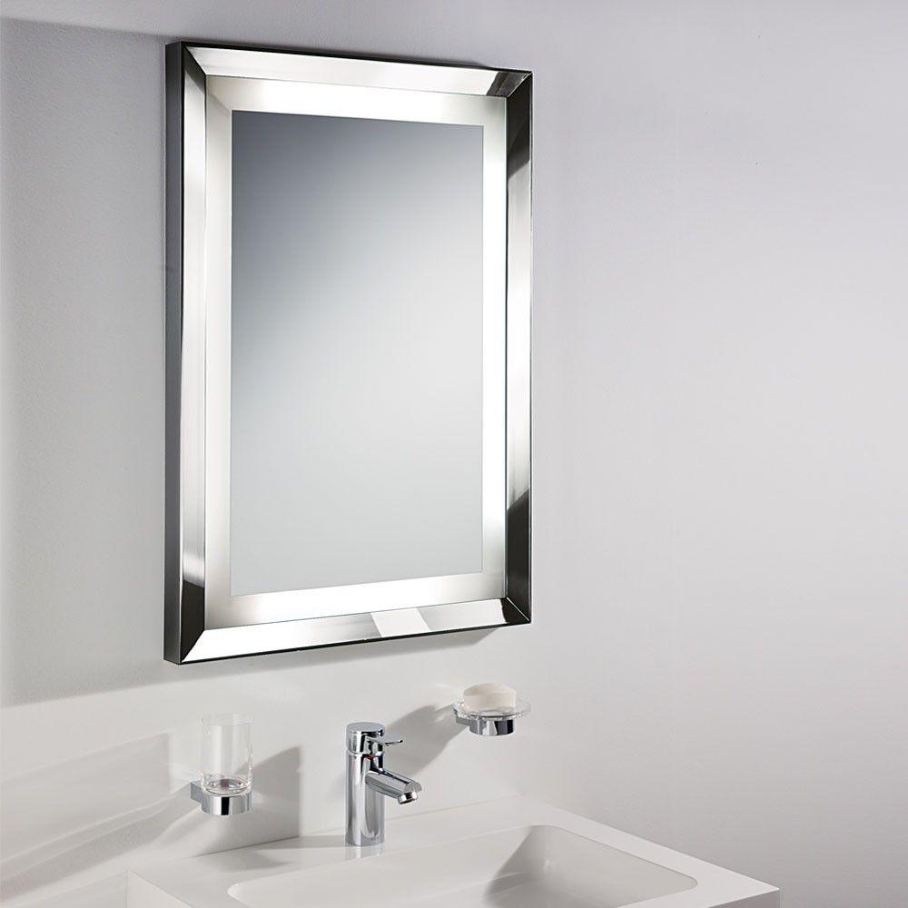 Large bathroom mirror and light | Идеи зеркал | Pinterest | Large ...