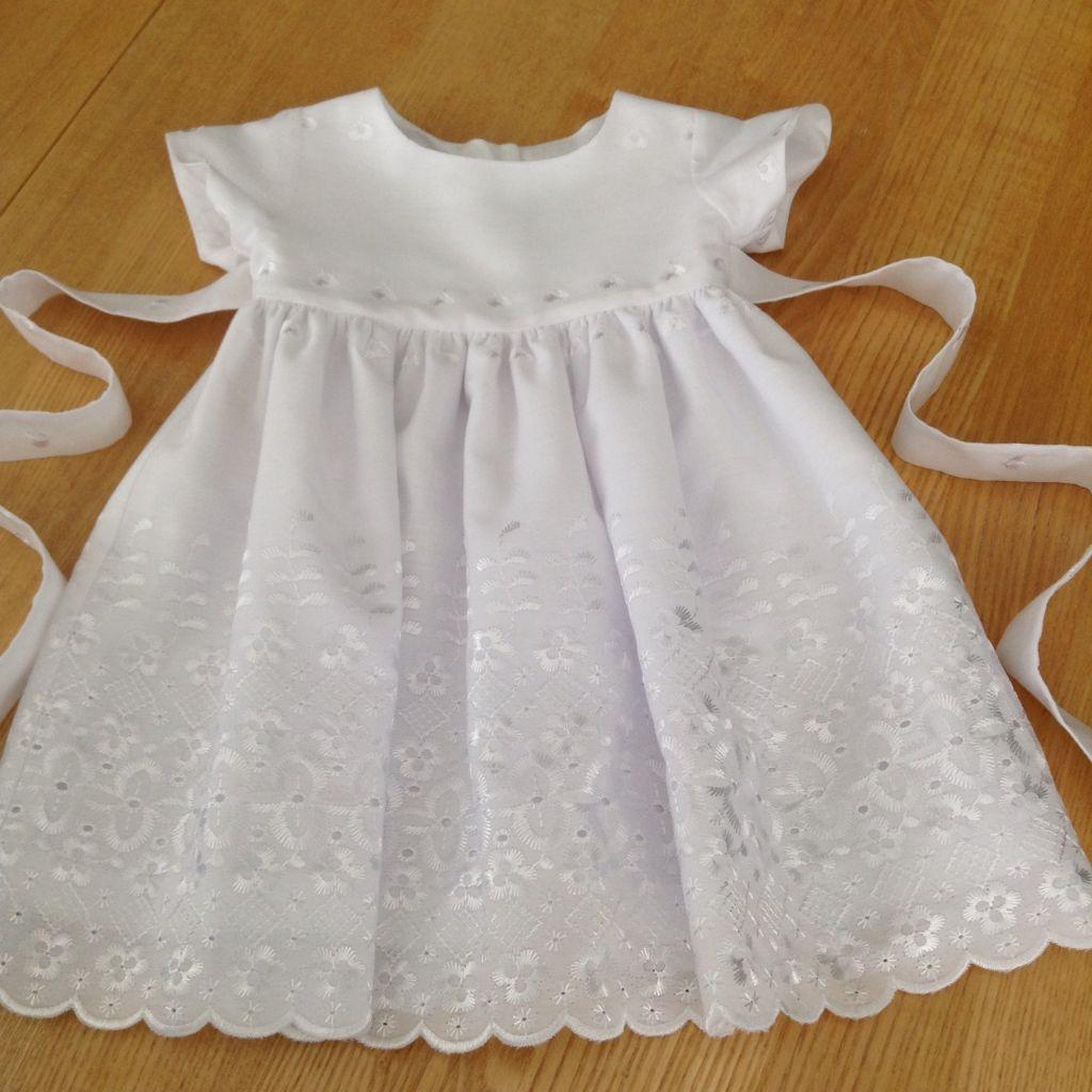 LITTLE WHITE DRESS for a Sweet Little Miss!