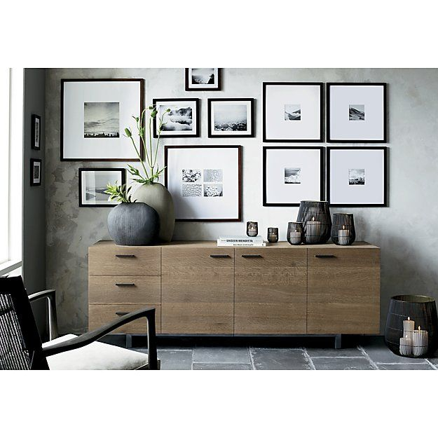 Shop Matte Brown Wall Frames. Classic brown wood and extra-wide ...