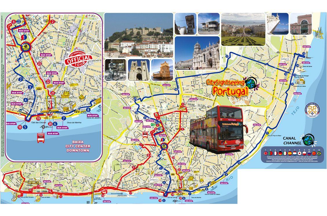 Hop On Hop Off Lisbon City Sightseeing