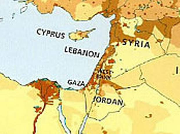 Irans nuclear sites and possible israeli strike plans laminated israel not included in harpercollins map used by children in middle east middle east gumiabroncs Images
