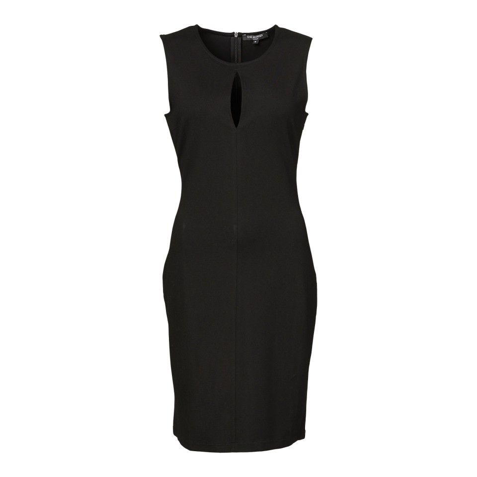 Sleeveless dress with slit effect - Clothing - Women