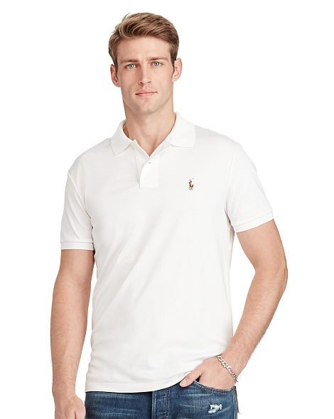 8f59d512fce52 Pima Soft-Touch Polo Shirt - Polo Ralph Lauren Custom Fit - RalphLauren.com