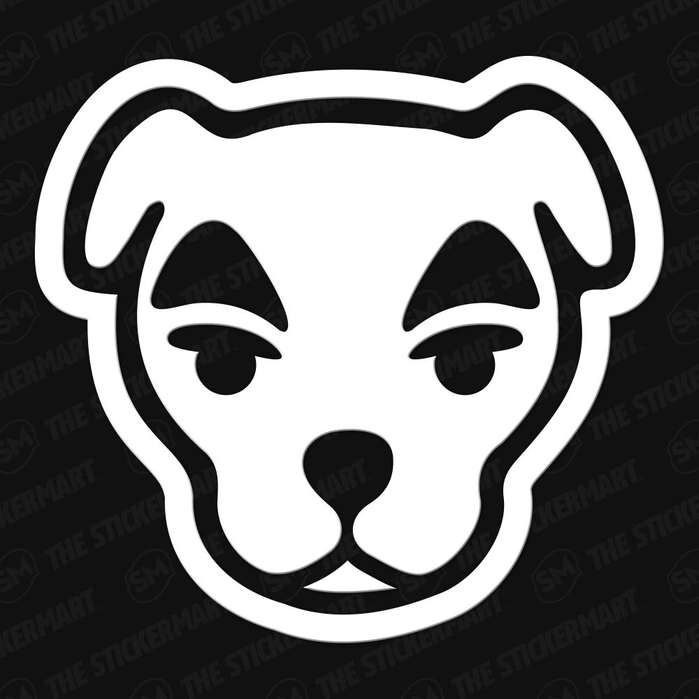 Kk Slider Animal Crossing Vinyl Decal In 2020 Animal Crossing