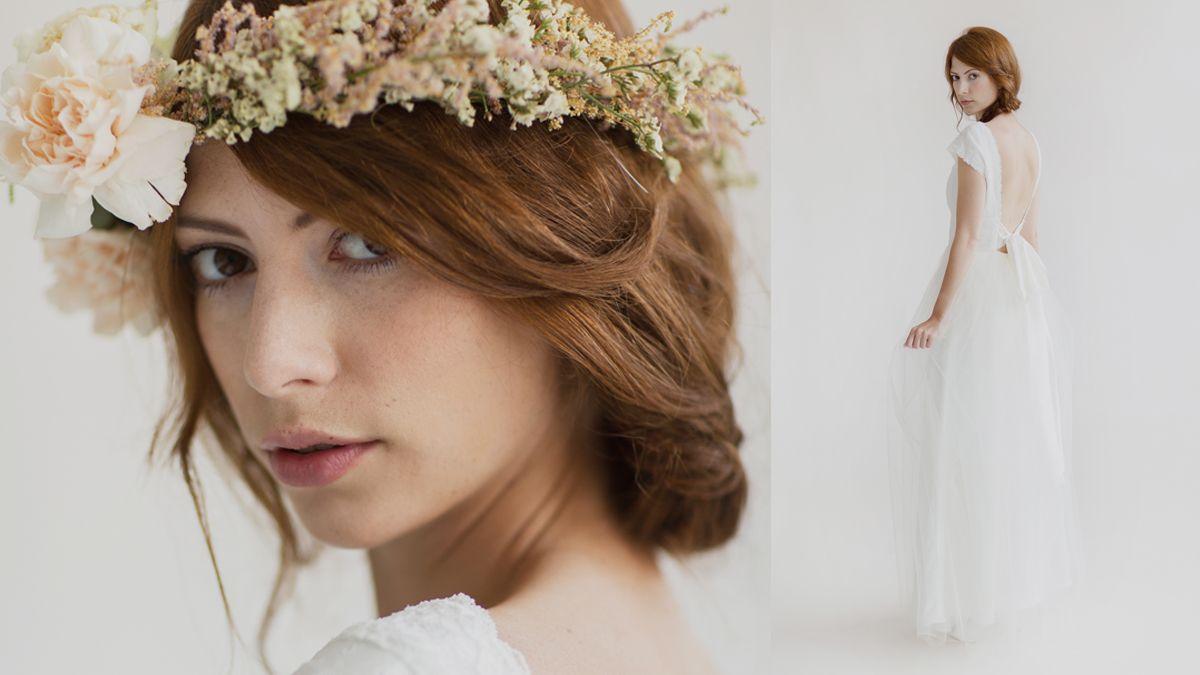 Soeur Coeur Brautcouture // Brautkleid mit zartem Tüll. Hochzeit im ...