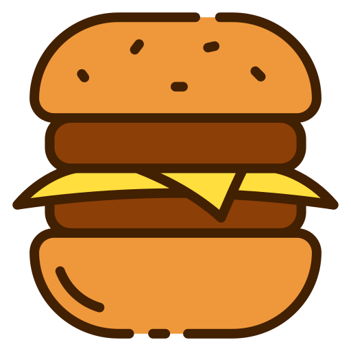 Cheese Burger Free Vector Icons Designed By Good Ware Free Icons Icon Vector Icon Design