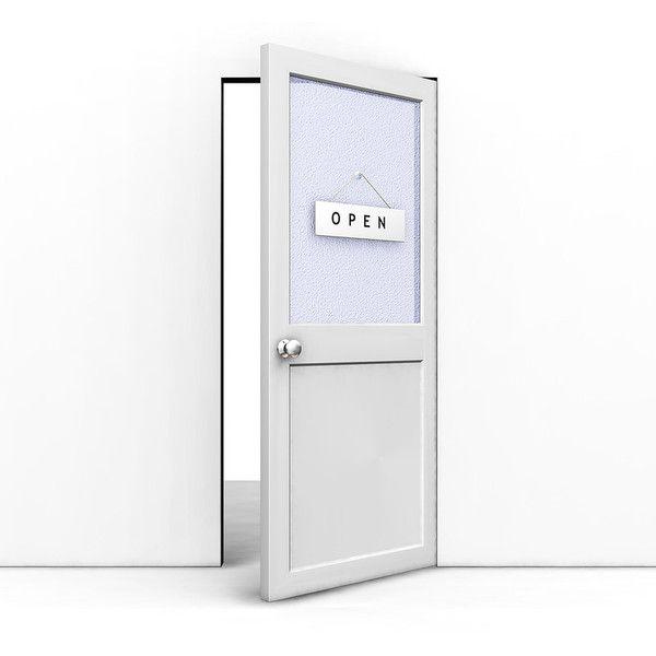 34++ Open door policy clipart information