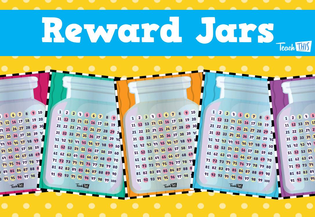 Classroom Marble Jar Ideas ~ Reward chart marble jar behaviour management