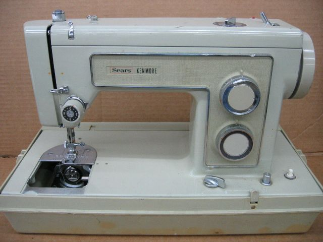 LINE 40 ZIG ZAG SEWING MACHINE KENMORE MODEL 40 I Will Sew Beauteous Sears Kenmore Sewing Machine 5186