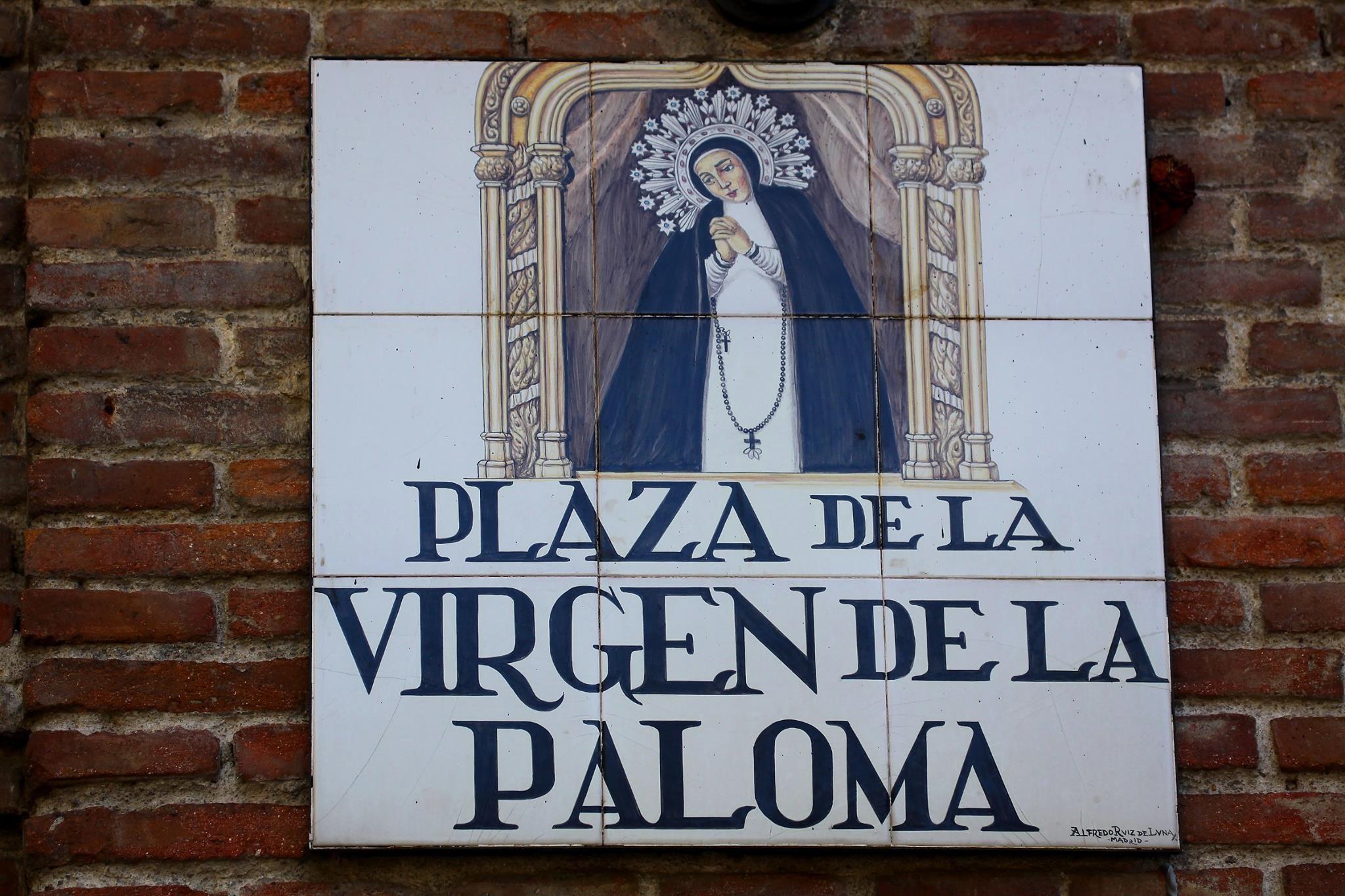 Plaza De La Virgen De La Paloma Madrid  Rtulos de