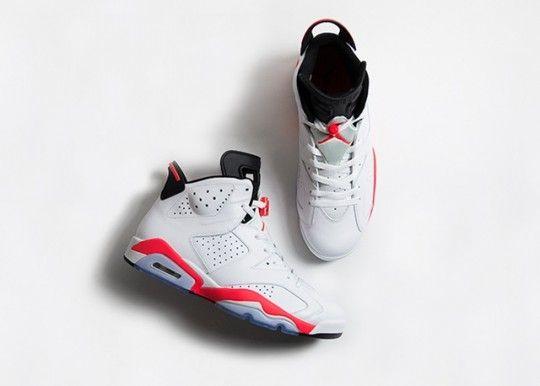 Air Jordan 6 Retro White infrared restock this week, buy ...