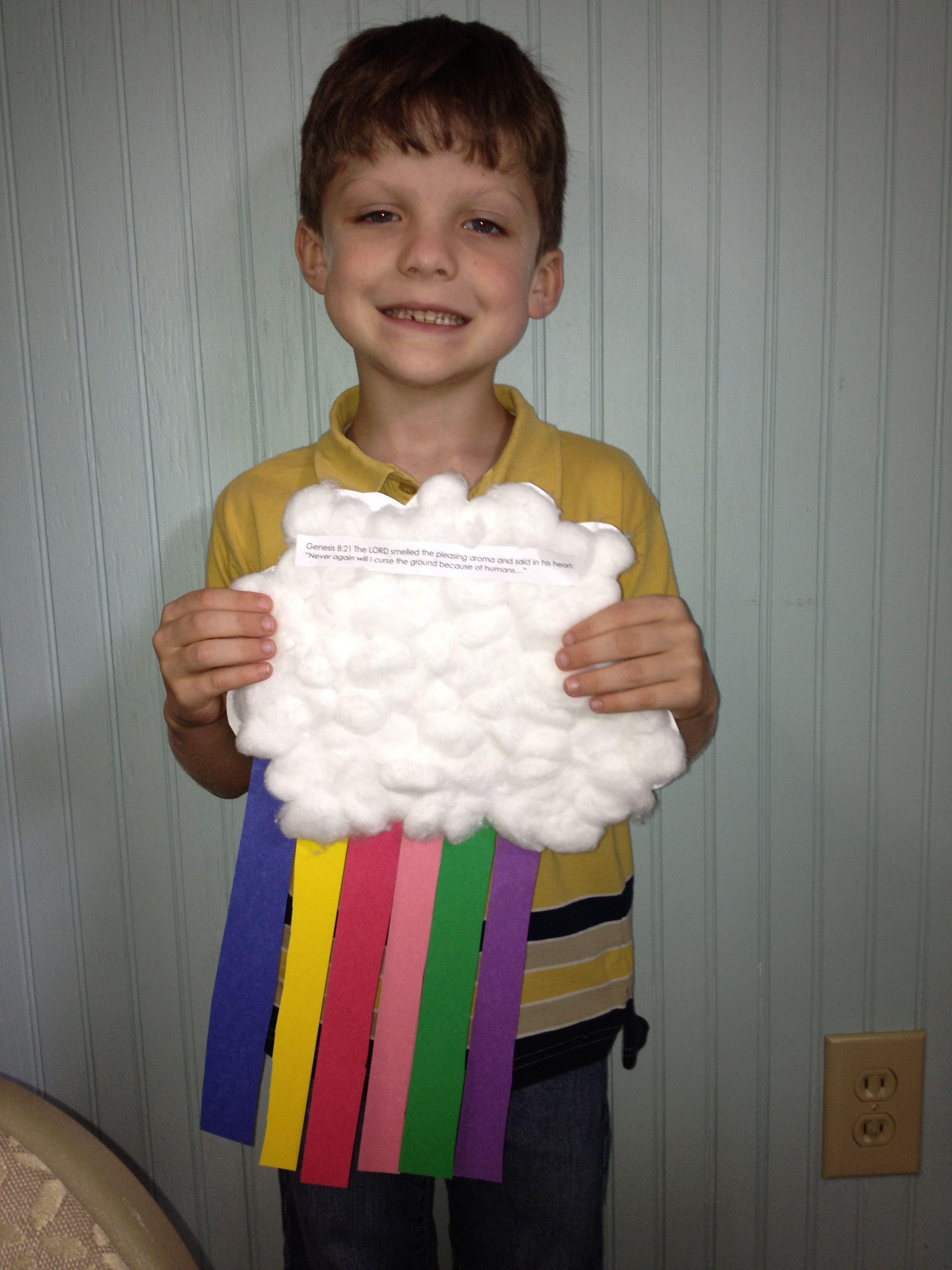 Noah S Ark Craft Write Promises Of God On Each Rainbow