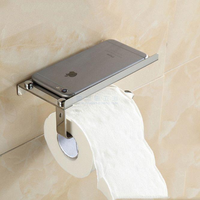 Chrome Stainless Steel Wallmount Bathroom Tissue Holder Toilet Stunning Bathroom Tissue Inspiration Design