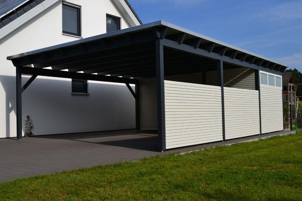 Carport Doppelcarport Aus Holz Vom Fachmann Pollmeier Holzbau Gmbh Gutersloh Bielefeld Paderborn Nrw Carport Holzbau Doppelcarport