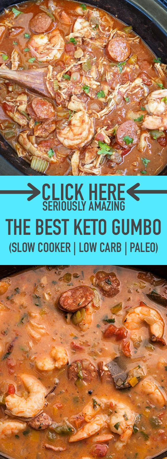 Photo of ★★★★★ 81 reviews: The Best Keto Gumbo (Slow Cooker, Low Carb, & Paleo…