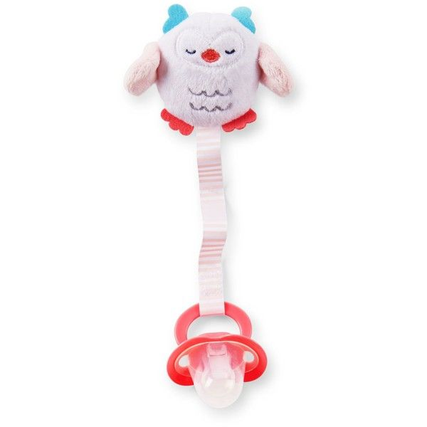 Owl Pacifier Clip Carter's ❤ liked on Polyvore featuring pacifiers and baby