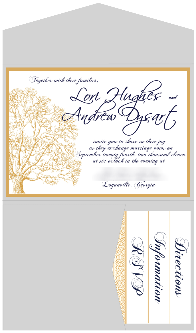 diy pocketfold wedding invitations for less than 1 each wedding