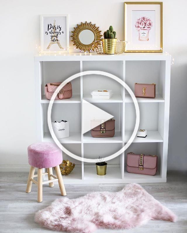 """Good Images Tatjana Witte on Instagram: """"Advertisement because of the links * 💕One shelf = 3 styles 💕 Today is pink / gold, I hope you like it 🎉💪🏻 In three days there will be…""""  Style   There is nothing Greater than a clever  IKEA Compromise of worn place, and it is a great excuse to  #Advertisement #days #Gold #Good #hope #Images #Instagram #links #pink #shelf #Style #styles #Tatjana #today #Witte"""