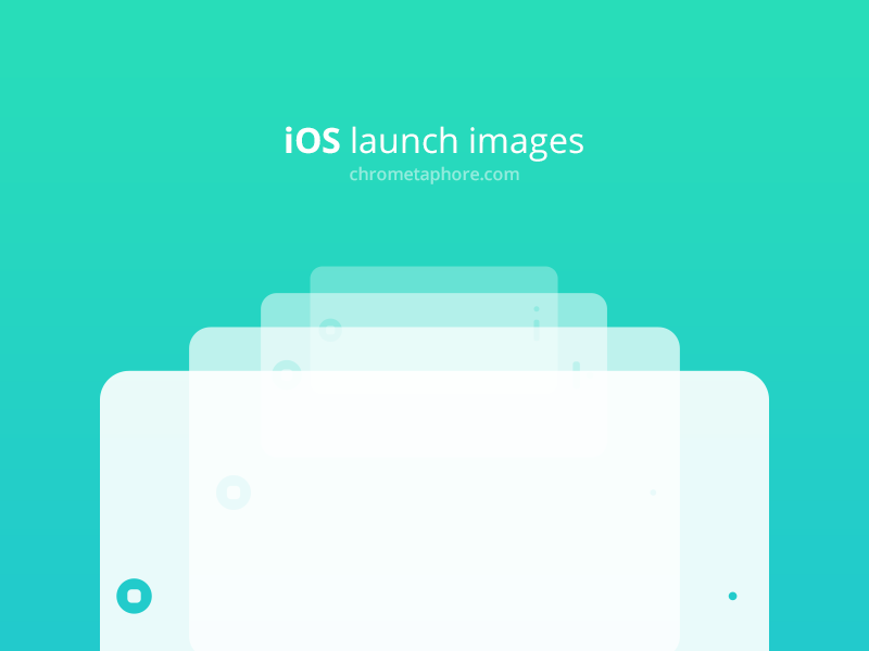 Freebie: iOS launch images | Pinterest | Template, UI UX Design and ...