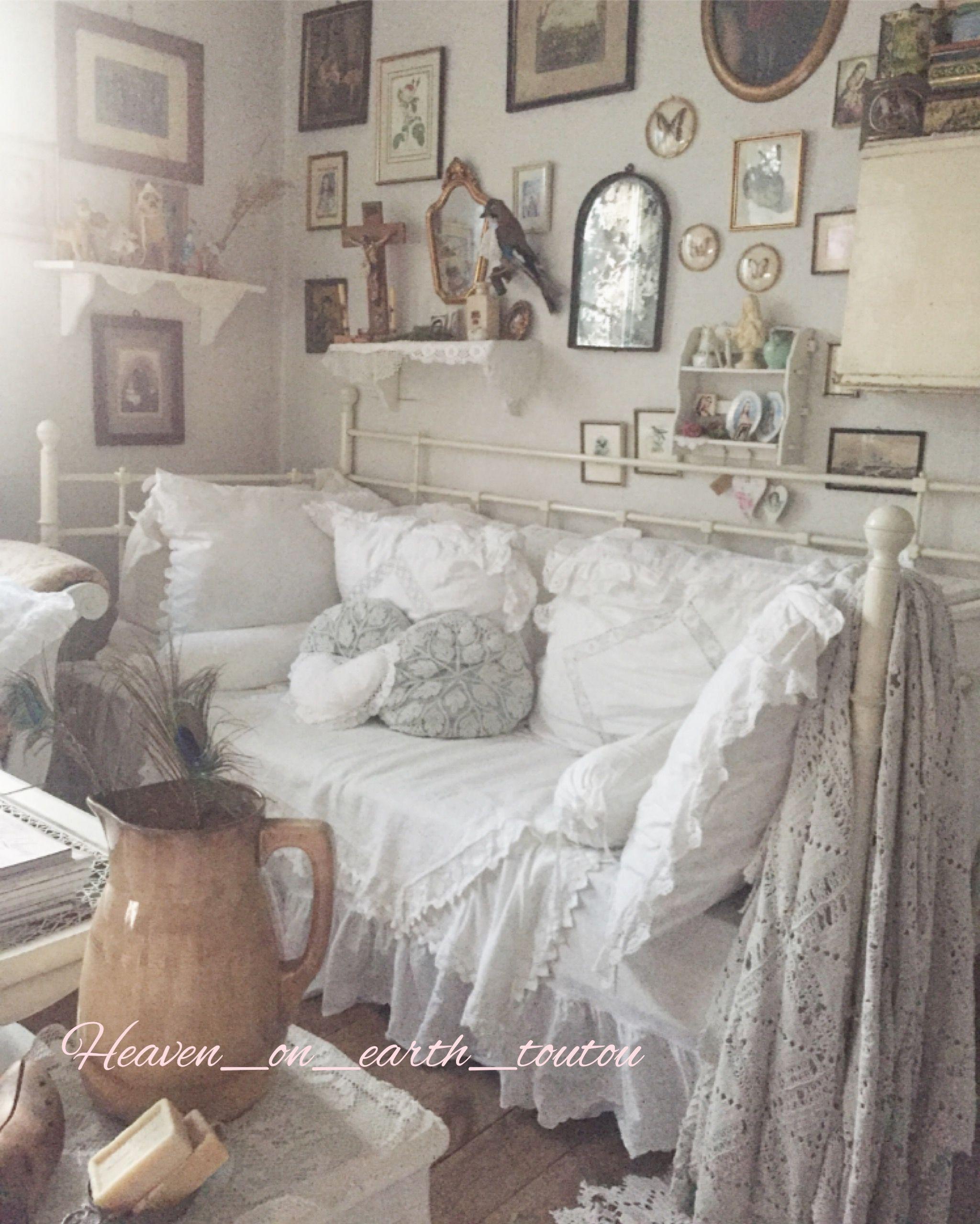 idee von brigitte domes auf wohnzimmer im shabby stil