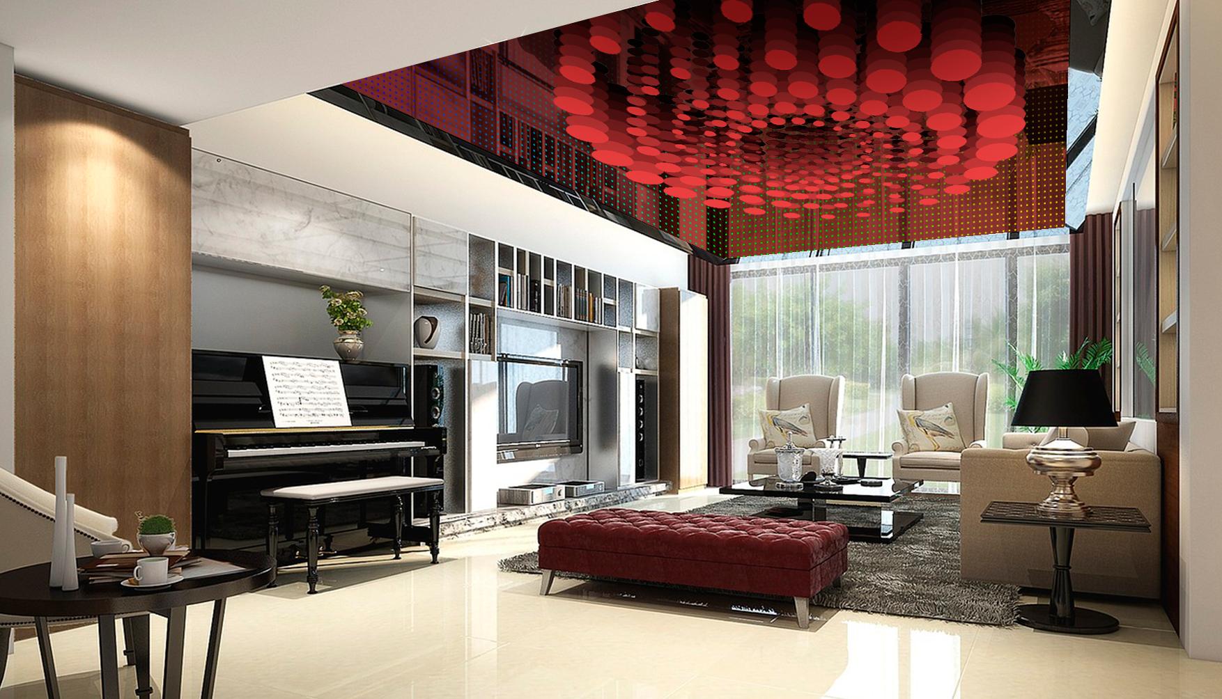Ideas Para Paneles Decorativos Techos Tensados 3d O Paneles  ~ Techos Decorativos Para Interiores