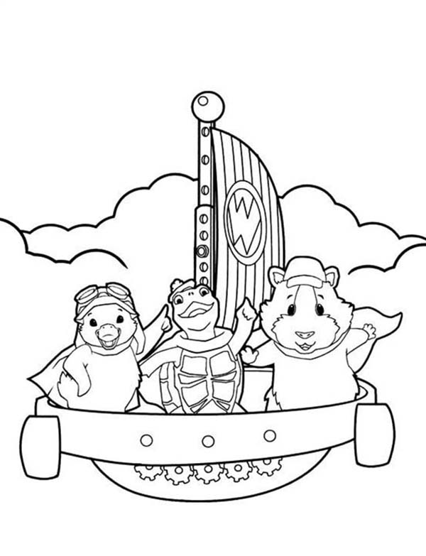 Sali Across The Eas In Wonder Pets Coloring Page Coloring Sun In 2020 Wonder Pets Coloring Pages Pets